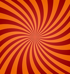 Red orange twisted background vector