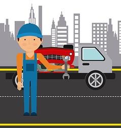 Repair service design vector