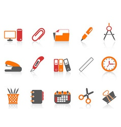 simple office tools icon vector image