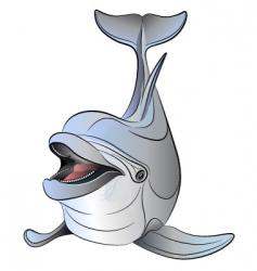 Vector dolphin vector