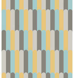 abstract yellow aqua and gray line pattern vector image