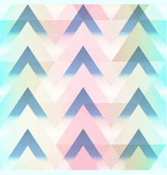 abstract zigzag seamless pattern vector image