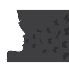 Breath of the butterfly vector