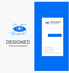 Business logo for advanced future gen science vector