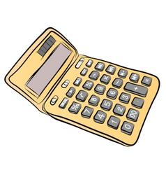 Caculator vector image