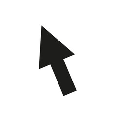 cursor icon in trendy flat style isolated on vector image