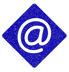 Email icon grunge watermark vector