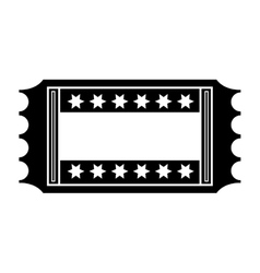 movie ticket icon vector image