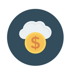 Weather money vector