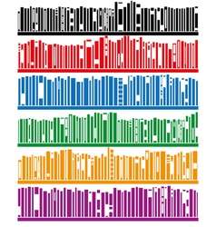 books on bookshelf vector image vector image