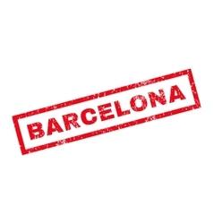 Barcelona rubber stamp vector