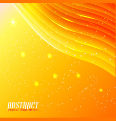 bright wavy abstract background vector image