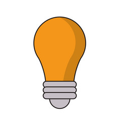 bulb idea light creative vector image