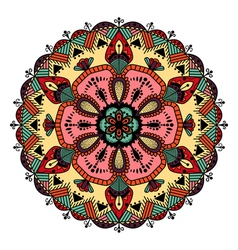 Colorful mandala vector