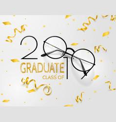 Congratulations graduates lettering for vector
