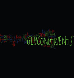 Glyconutrients are only one piece of the puzzle vector