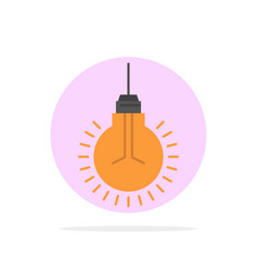 Light bulb idea tips suggestion abstract circle vector