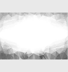 Monochrome triangle vector