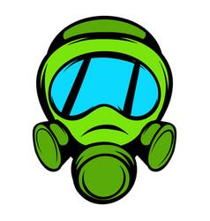 gas mask icon icon cartoon vector image