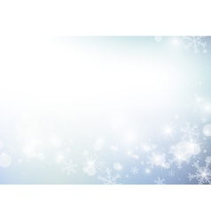 abstract christmas background design vector image