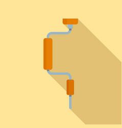 Brace icon flat style vector