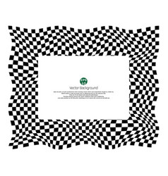 Checkered pattern of champ background with vector