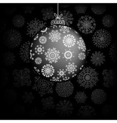 Christmas greeting card EPS8 vector image