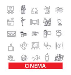 Cinema film movietheatre entertainment vector