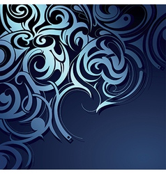 Decorative background ornament vector image