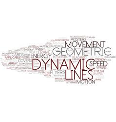 Dynamic word cloud concept vector