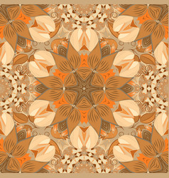 Floral sweet seamless background for textile vector