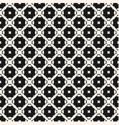 ornament pattern diagonal lattice squares vector image