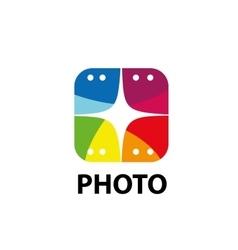 logo camera vector image vector image