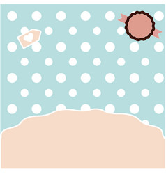 cute templates for use vector image vector image