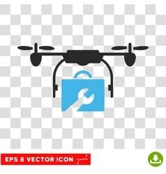 Service Drone Eps Icon vector image vector image