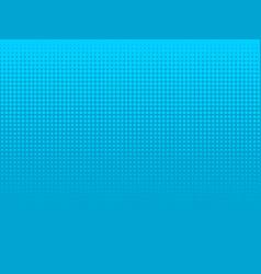 blue underwater halftone background vector image