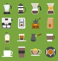 coffee method vector image