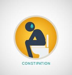 Constipation Logo vector image