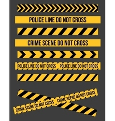 Danger Tape Lines vector image