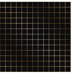 geometric grid pattern - seamless luxury vector image