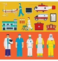 Hospital - doctors vector