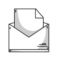 Line folder file document information archive vector