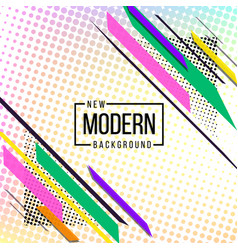 Pink red blue and black theme new modern abstract vector