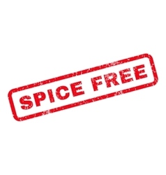 Spice Free Rubber Stamp vector image vector image