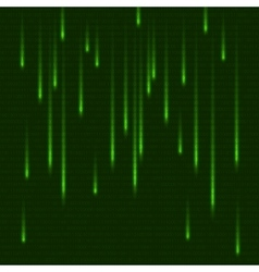 Green matrix effect with binary code Abstract vector image