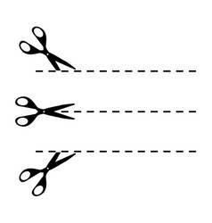 black line three vector image