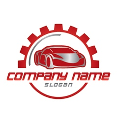 Car business logo vector