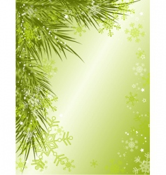 Christmas background vector vector image