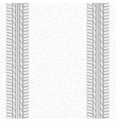 Dotted tire track pattern vector