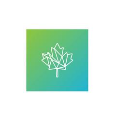 Green leaf cannabis logo template icon element vector